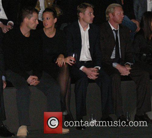 Til Schweiger, Barbara Schoeneberger, Mika Haekkinen and Boris Becker 6
