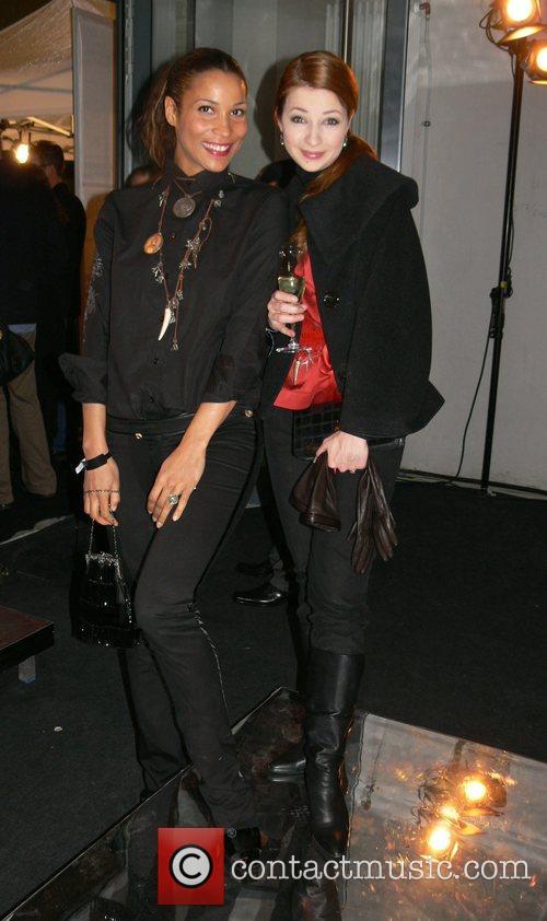 Annabelle Mandeng, Loretta Stern Mercedes Benz Fashion Week...