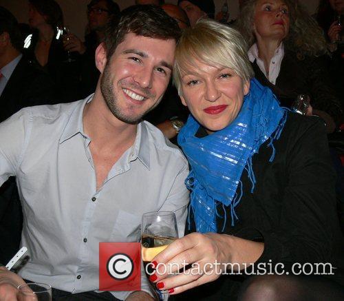 Jochen Schropp, Nicole Schoener Mercedes Benz Fashion Week...
