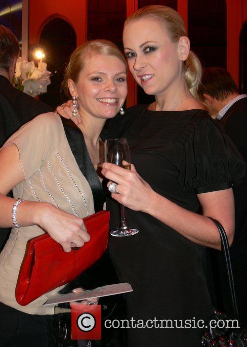 Anne-Sophie Briest, Jenny Elvers-Elbertzhagen Mercedes Benz Fashion Week...