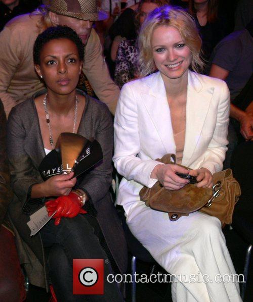 Dennenesch Zoude, Franziska Knuppe Mercedes Benz Fashion Week...