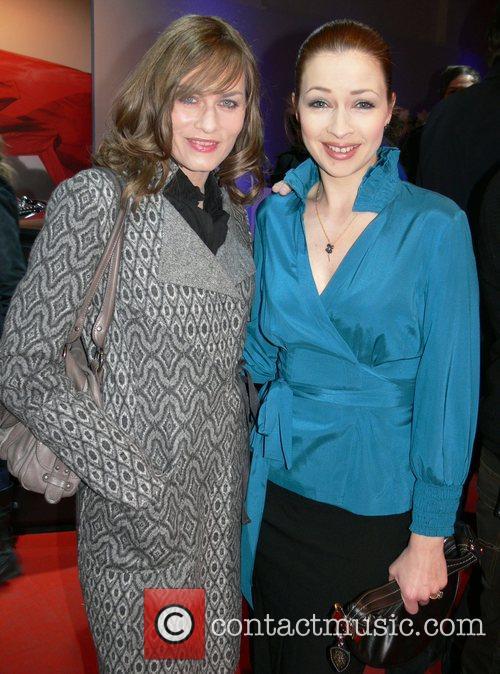 Gesine Cukrowski, Loretta Stern Mercedes Benz Fashion Week...