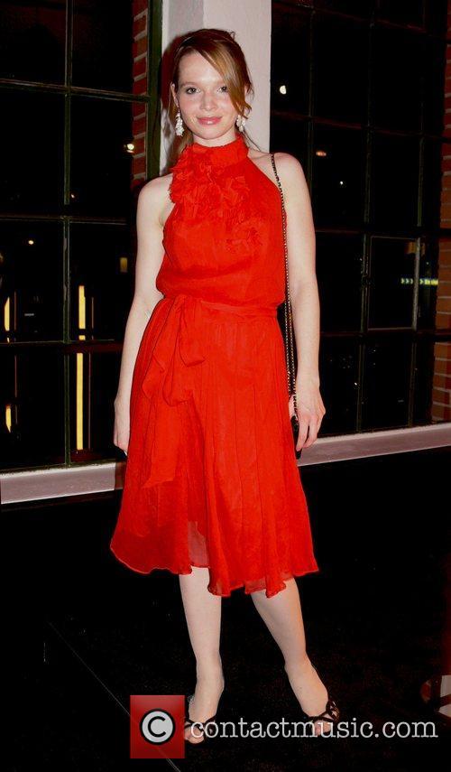 Karoline Herfurth Mercedes Benz Fashion Week Berlin 2008...