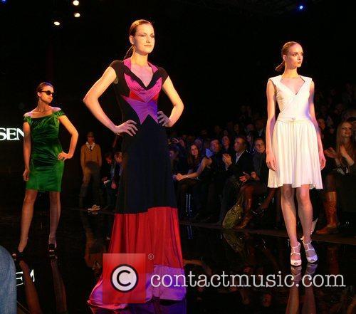 Models Mercedes Benz Fashion Week Berlin 2008 -...