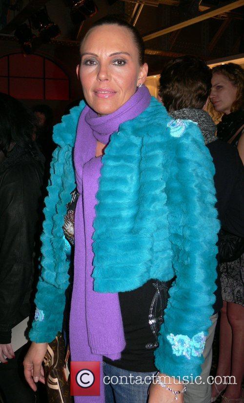 Natascha Ochsenknecht Mercedes Benz Fashion Week Berlin 2008...