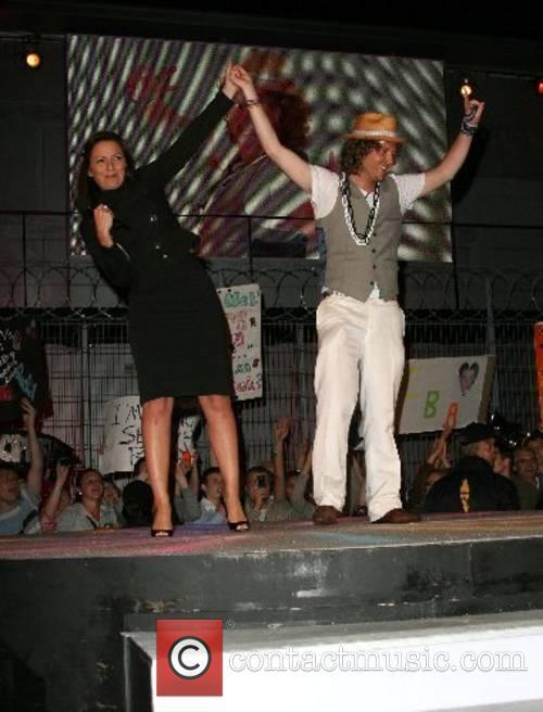 Davina McCall and Seany Big Brother 8 -...