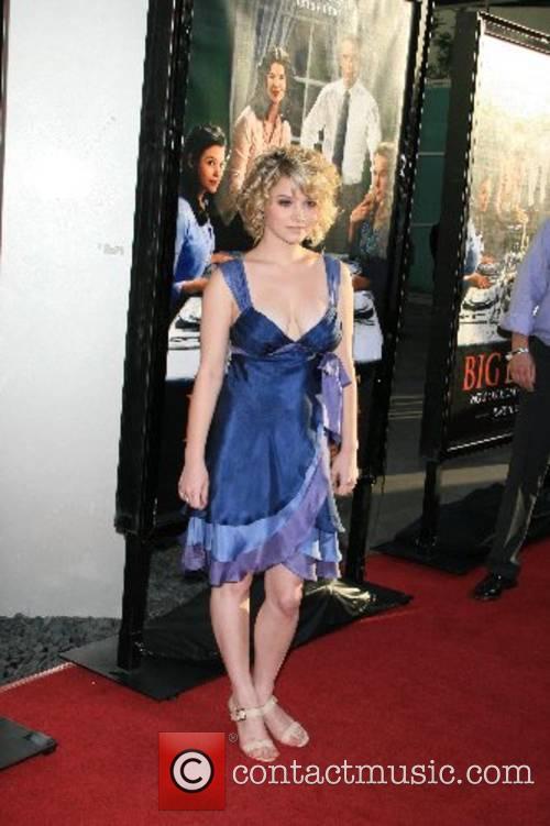 Sarah Jones HBO Series 'Big Love' Los Angeles...