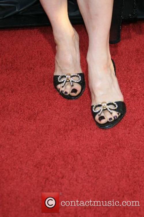 Melora Walters wearing Betsy Johnson shoes HBO Series...