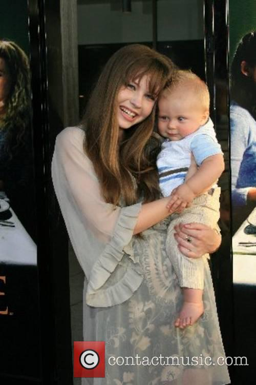 Daveigh Chase and her brother Cade HBO Series...