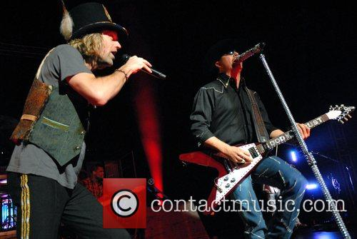 American country music duo Big & Rich performing...
