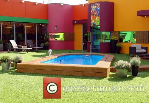 Garden of the new Big Brother 9 House London,...