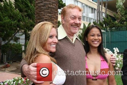 Ericka Arroyo, Jerry Buss and Venus Ramos Bikini...