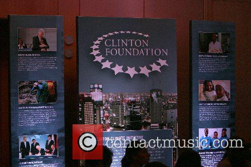 Clinton Foundation poster Former President of United States...