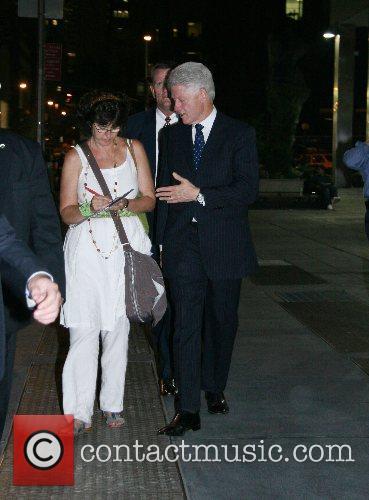 President Bill Clinton President Bill Clinton hosted a...