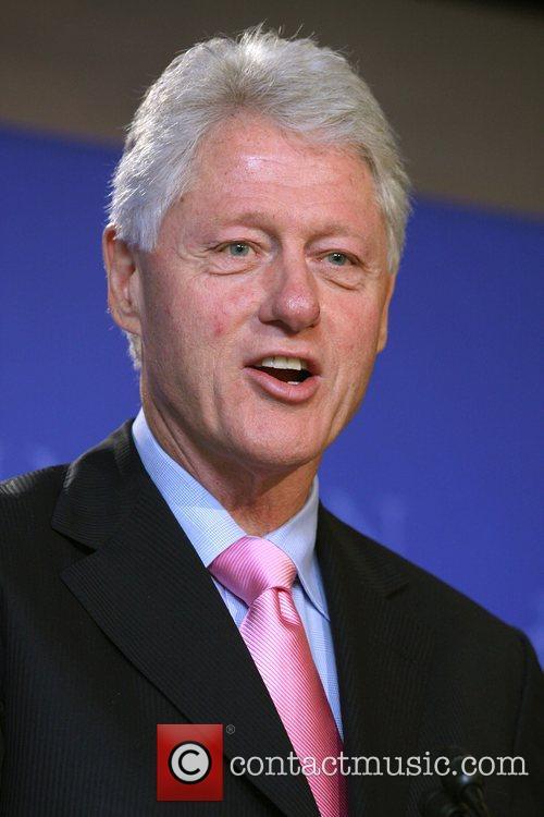 Bill Clinton and David Letterman 2