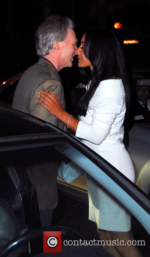 Leaves a restaurant in Beverly Hills with a...
