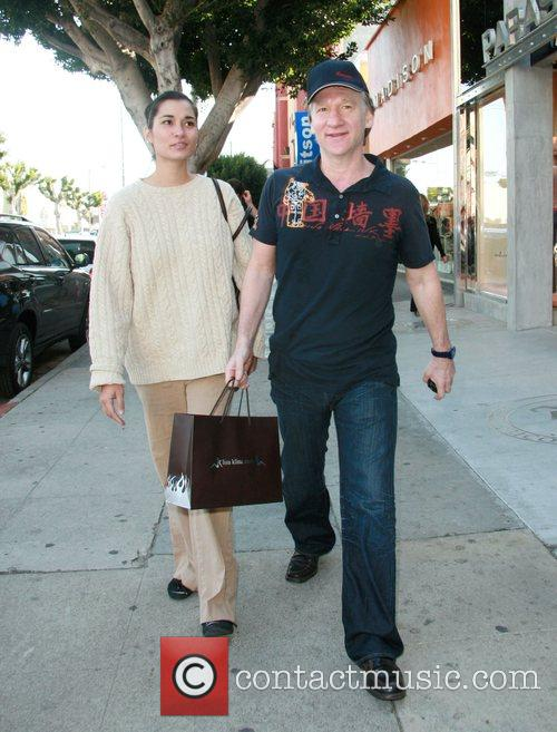 Bill Mahr out on a shopping trip Los...