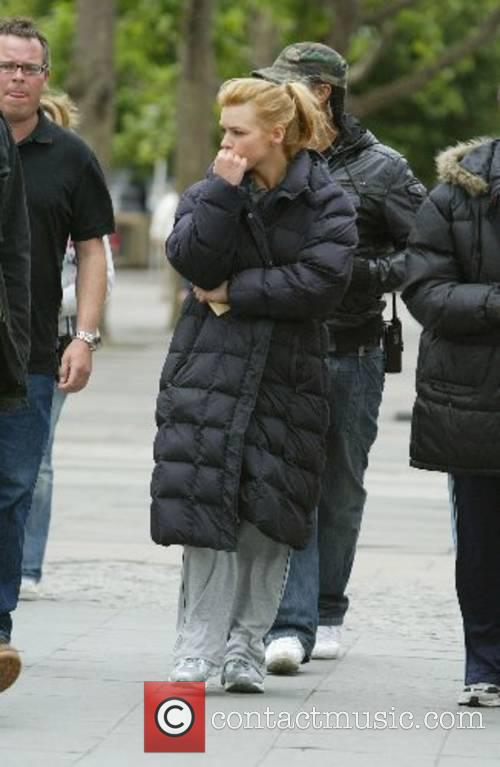 Billie Piper leaving after a days filming for...