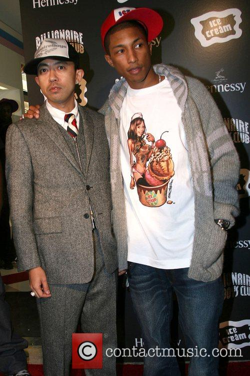Pharrell Williams and Nigo 3