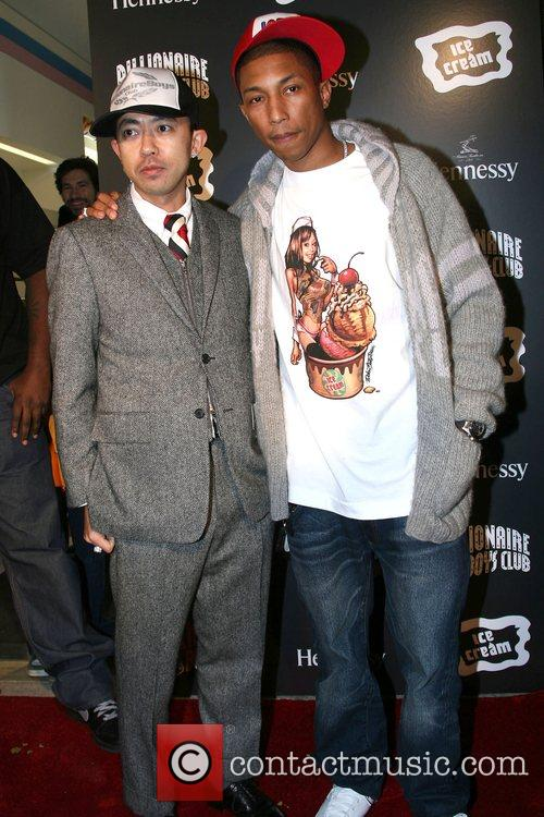 Pharrell Williams and Nigo 1