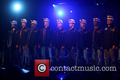 Coal miners 'Billy Elliot: The Musical' launch event...