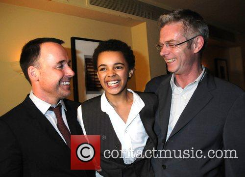 David Gest, Layton Williams and director Stephen Daldry...