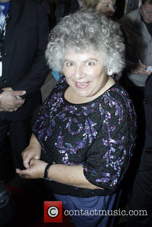 Miriam Margolyes Premiere of 'Billy Elliott the Musical'...