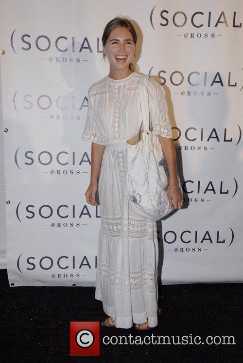 Lauren Bush arriving at the Hampton Social at...