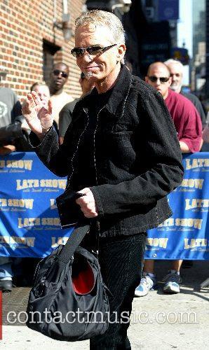Billy Bob Thornton and David Letterman 6