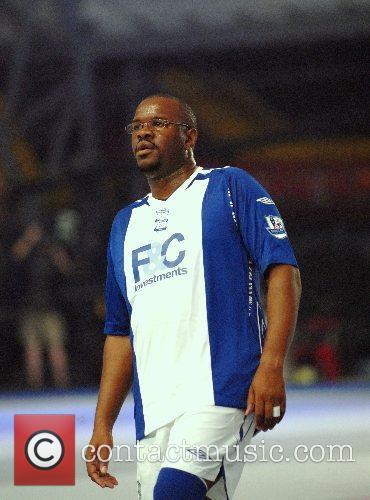 Dennis Seaton Premier League All Stars Football Game...