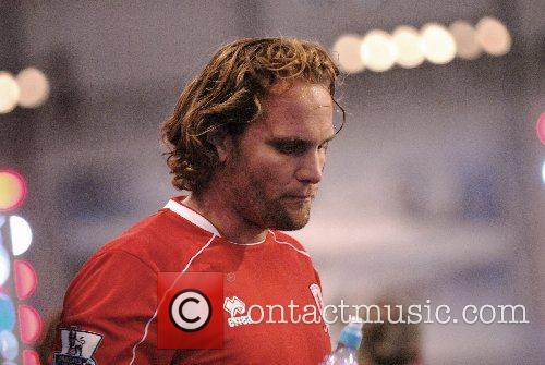 Mikklel Beck Premier League All Stars Football Game...