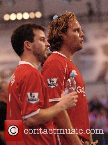 Mikkel Beck Premier League All Stars Football Game...