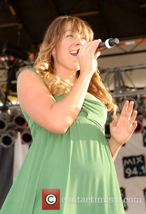 Colbie Caillat performing live at The Bite of...