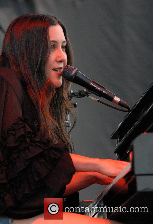 Vanessa Carlton performing live at The Bite of...
