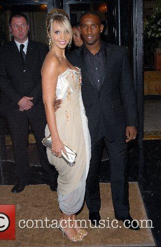 Jermaine Defoe and Charlotte Meares 5