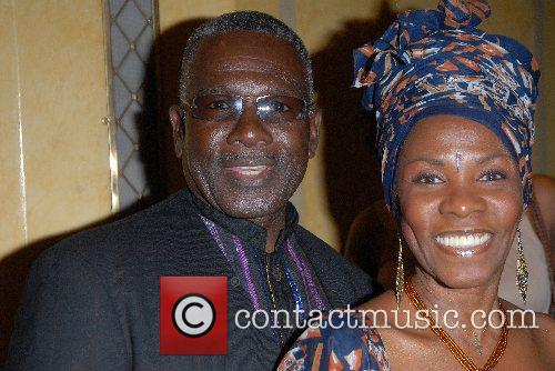 Rudolph Walker and Wife 2