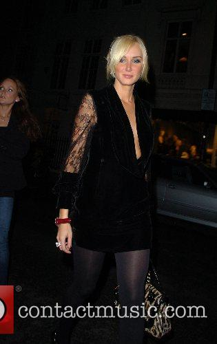 Leaving the Black Screen Party at the Claridge's...