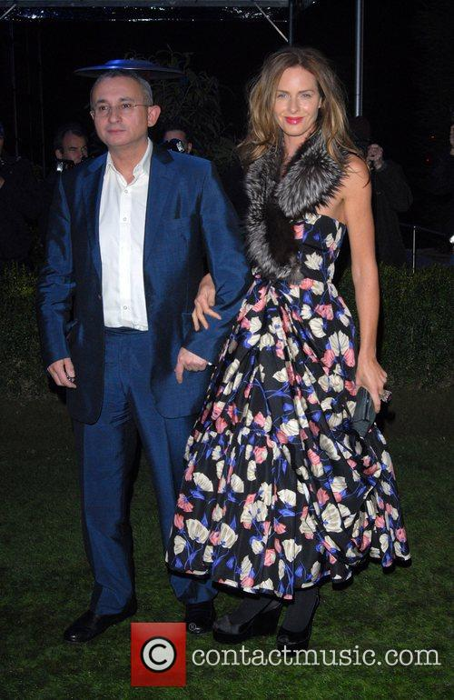 Trinny Woodall and guest Conservative Party Black and...