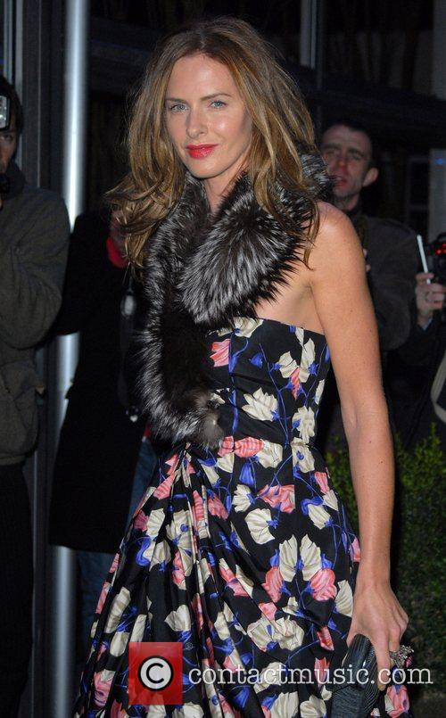 Trinny Woodall Conservative Party Black and White Ball...