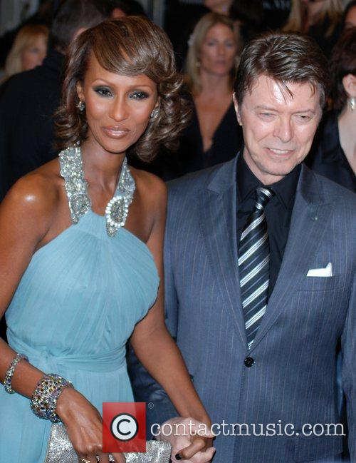 Iman and David Bowie 6