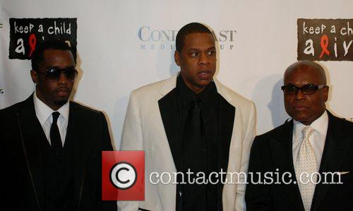 Sean 'P Diddy' Combs, Jay Z and L....