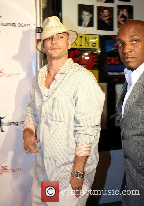 Kevin Federline Black Card Party held at Vice...