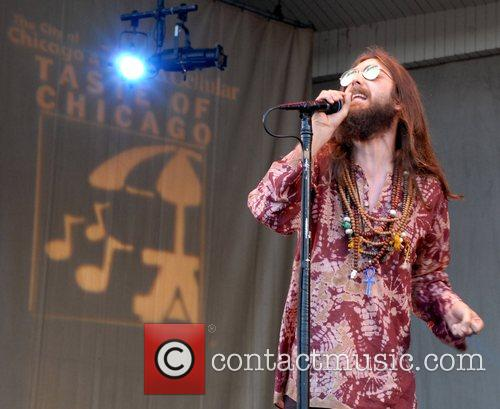 The Black Crowes performing live in Grant Park