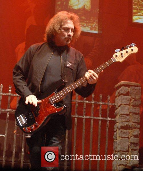 Geezer Butler Black Sabbath perform live at the...