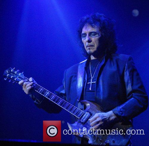 Tony Iommi Black Sabbath perform live at the...