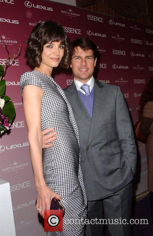 Katie Holmes and Tom Cruise Essence magazine celebrates...