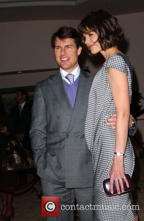 Tom Cruise and Katie Holmes Essence magazine celebrates...
