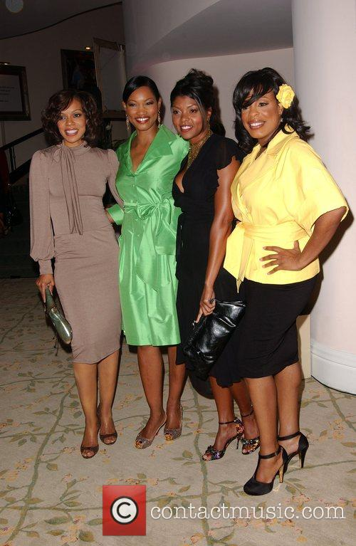 Wendy Raquel Robertson, Garcelle Beauvois, Taraj Henson and...