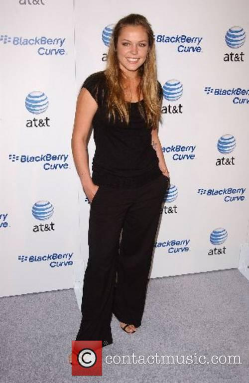Agnes Bruckner Launch Party for The New BlackBerry...