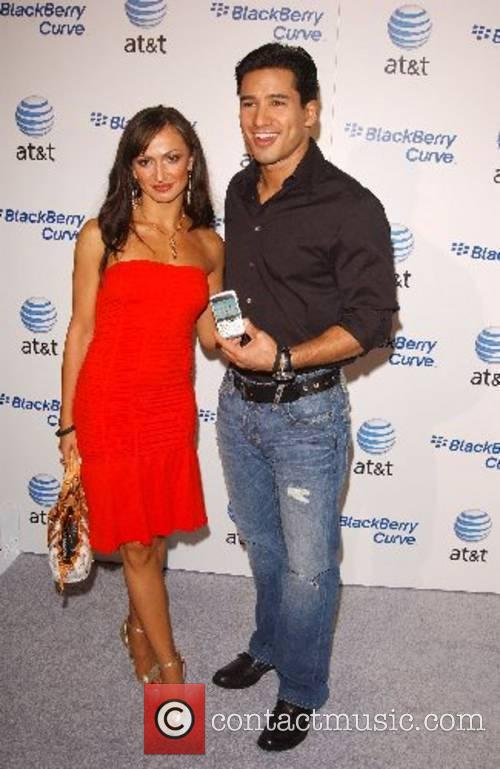 Karina Smirnoff and Mario Lopez Launch Party for...